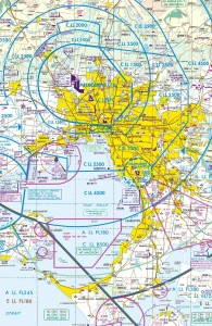 Airspace in the Melbourne basin area has 4 large airports to deal with (plus lots of smaller airstrips)