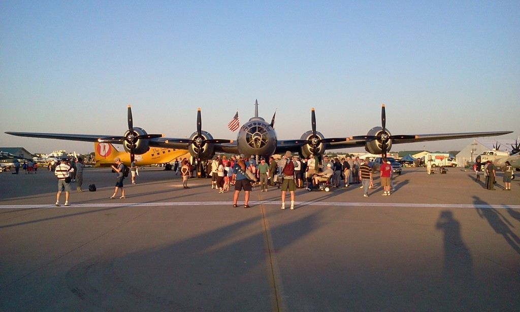 "B-29 ""Fifi"" at Oshkosh 2011"