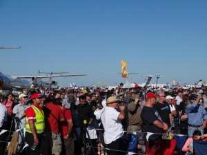 Crowds at Avalon 2013 (But I'm on the other side of the barrier :) )