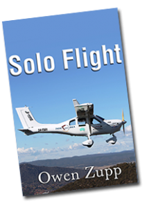 Cover Image for 'Solo Flight' (Image from Owen's website)