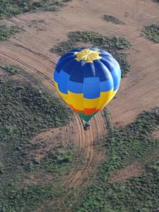 "Balloon Association of Victoria's club balloon: VH-IFV (aka ""Vicky"")"