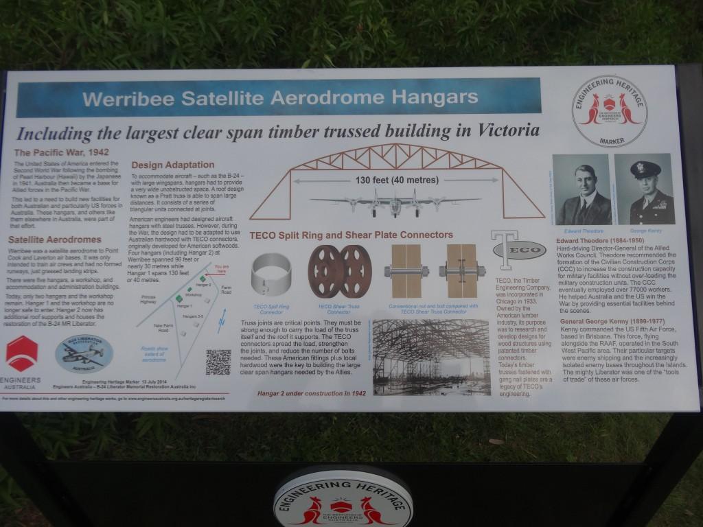 Hangar Heritage Sign