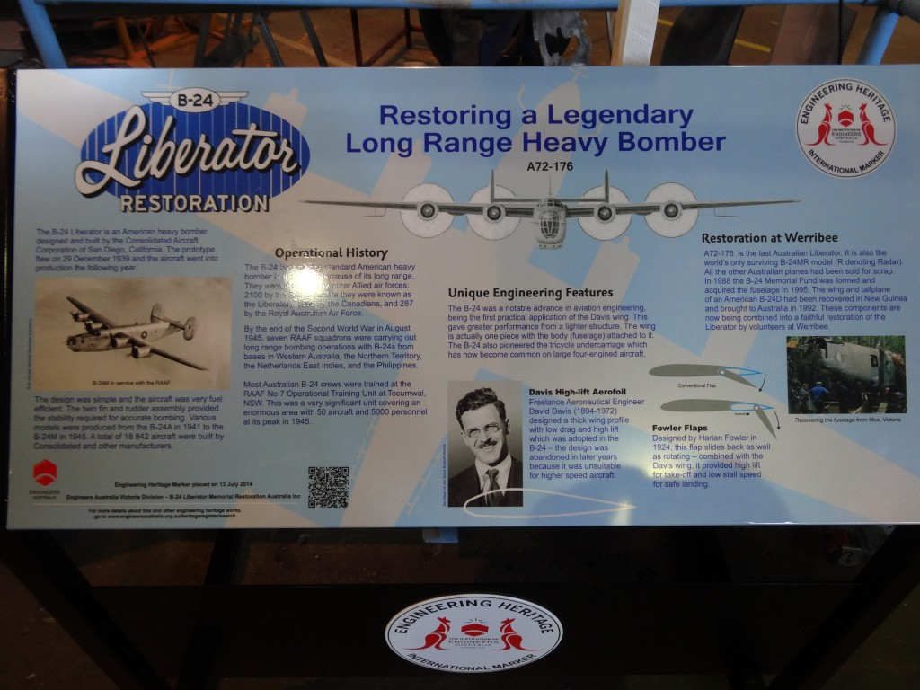B24 Restoration Heritage Sign