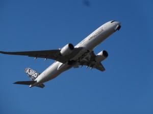 A350 XWB MSN5 departing Sydney