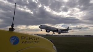 You know, I think it might just be landing in Perth