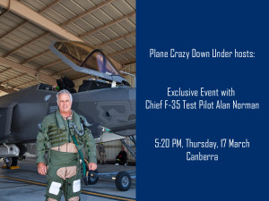 Alan Norman - Chief F35 Test Pilot