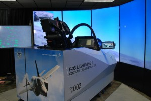 Check out the F35 Cockpit Demonstrator at this exclusive PCDU event!
